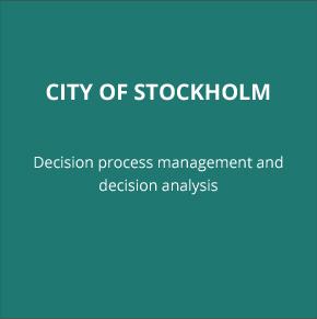CITY OF STOCKHOLM