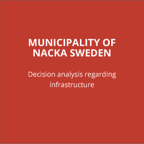 MUNICIPALITY OF NACKA SWEDEN